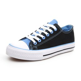 Summer new low to help women's canvas shoes wholesale breathable student shoes solid color canvas shoes wholesale