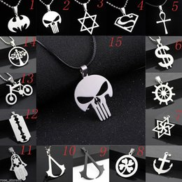 Fashion Women's Men's Silver Stainless Steel Pendant Necklace Chain Jewelry Gift - Randomly Send