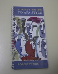 Wholesale hot selling New Book Pocket guide to APA Style fifth eidition