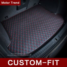 Wholesale Custom fit car trunk mat for Infiniti EX25 FX35 G35 JX35 Q70L QX80 D all weather car styling tray carpet cargo liner