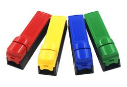 Papiers à cigarettes à vendre en Ligne-Vente en gros Facrory Driect Vente Tabac Cigarette Rolling Machine Plastique Injecteur manuel Tube remplissage rouleau utilisé pour les papiers à rouler