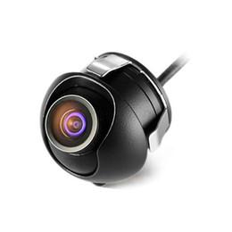 2017 línea de hd Mini gran ángulo impermeable HD CCD Normal imagen coche delantero / cámara de visión trasera con imagen de espejo Convertir línea línea de hd baratos