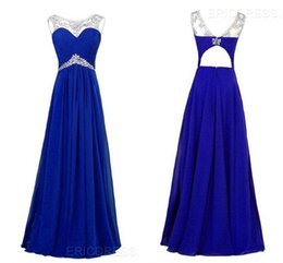 Wholesale Cheap Ericdress Affect Snow Imitation Gemstones Neck Beading Ruched Floor Iength Evening Dress HY1260