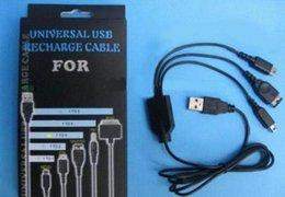 Ds lite dsi en venta-3 en 1 cable del cargador del cargador del USB para Nintendo DS / DS Lite / DSi / DSi XL