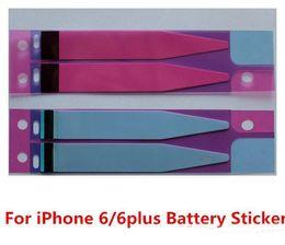 Pegamento de la etiqueta engomada de la batería Pegamento adhesivo de la cinta para la parte posterior Shell posterior de la cubierta para el iPhone 6g 4.7inch 6 del iphone 5s 5c más 5.5inch 6S 7 7plus Envío libre desde envío libre del iphone de la manzana fabricantes