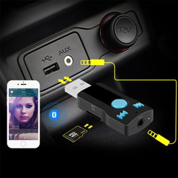 Wholesale BC07 high performance Bluetooth Car USB audio Receiver built in MP3 decoder chip Micro SD Card hands free card reader