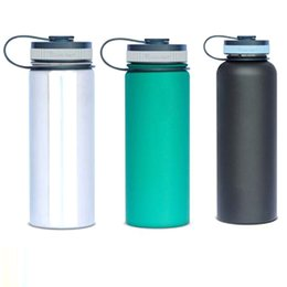 Eaux fraîches en Ligne-Hydro Flask 304 Gobelets en acier inoxydable Bouteilles d'eau 18 oz 32 oz