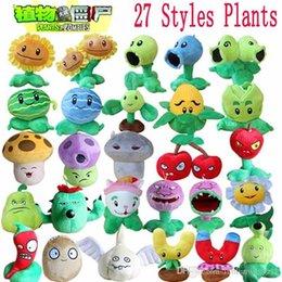 1pcs Plantes vs Zombies Peluches Plantes 13-20cm vs Zombies PVZ Plantes Soft peluche jouets en peluche jouet Figure jouet pour les enfants à partir de enfants jeux vidéo fabricateur