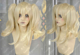 Alois Fashion Short Light Blonde Fashion Cosplay Party Wig+2 Clip Ponytail