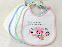 Cartoon Newborn Toddler infant kids boys grils bibs waterproof saliva
