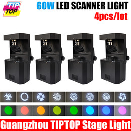 Wholesale W led scanner stage light W white color led lamp Professional China Manufacturer TIPTOP DMX Control