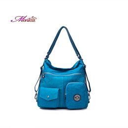 Wholesale Ladies Waterproof Messenger Bag - Fashion Women Messenger Bags Handbag Waterproof Nylon Shoulder Bag Crossbody Bags For Women Casual Tote Kiple Style Ladies Bags