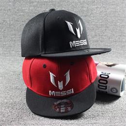 Wholesale Barcelona Messi snapback kids children adjustable hats Christmas gift fashion baseball caps winter hats football hats for men