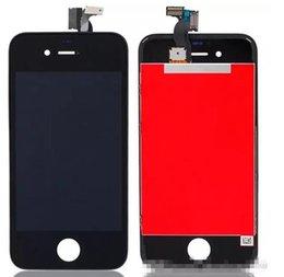 El digitizador de la exhibición de la pantalla táctil del LCD con la asamblea del sistema completo del capítulo para el iPhone 4 4G / 4S libera el envío desde iphone 4s conjunto completo fabricantes