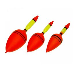 Wholesale cm Plastic Carp Wood Fishing Floats Bobber River Stream Fishing Tackle Tools Buoy Fishing Float Bobbers