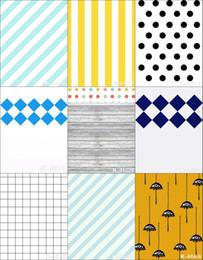 2017 bébé toiles de fond la photographie de vinyle 5X8FT Colorful Spots Art Wall Baby Props Fond de toile de fond de vinyle pour le studio de photographie Imprimé d'ordinateur Fond d'écran Backdrops