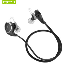 ortable Audio Video Earphones Headphones QCY QY8 Mini Bluetooth 4.1 Headset Wireless Sport Bluetooth Earphone with Mic Noise Cancelling O...