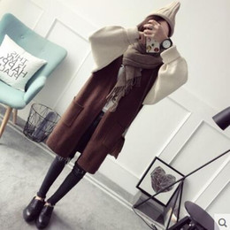 Long spring sweater in the new 2017 womenswear spring loose knit cardigan han edition student joker