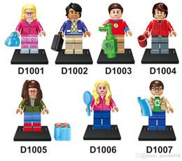Wholesale 1400pcs The Big Bang Theory building block figure bricks