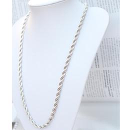 Франция человек для продажи-Кольцо из белого золота 24-каратного белого золота с элементами золота, заполненное мужскими ожерельями 6мм 58 г (размер: 23,6 дюйма, цвет: серебристый)