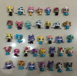 Wholesale 20pcs Littlest Pet Shop LPS Animals Figures Toy petshop pets figure HasBro Mini toy For Children Toy Gifts