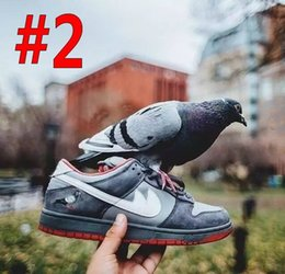 Canada 2017 Retro 1 Dunk Low Pro Premium SB New York Jpack Basketball Chaussures Hommes Femmes WAirlis Retros 1s Athlétisme Zapatillas Deportivas Sneakers Offre