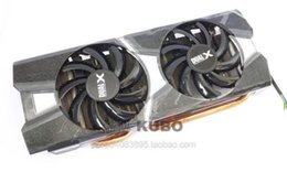 Sapphire AMD R9 280X 280 270X Dual-X Fan FDC10H12S9-C Graphics card cooling fan with heat sink 12V 0.35A