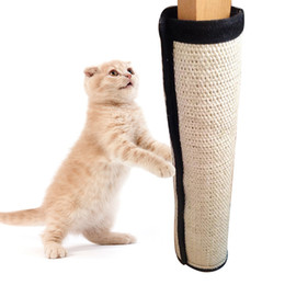 Coussinets de chat à vendre-Mayitr Hot Sale 40x30cm Sisal Durable Pet Cat Scratching Pad Mat Board Bed Scratcher Post Pole Toy pour fournitures pour animaux de compagnie