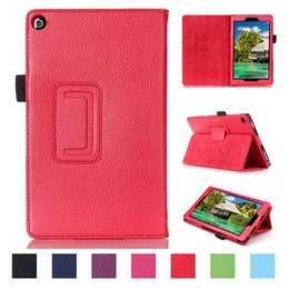 Wholesale For Amazon Kindle fire Wallet Case Lichee Pattern For Kindle HD6 HD7 HD8 HD10 Kindle Paperwhite30 Pieces