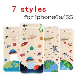 cases wholesales Astronaut iPhone6 mobile phone shell iPhone6S creative mobile phone sets apple 5S tide brand space protection shell