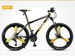 Wholesale Permanent speed mountain bike gold Mito round round male and female students adult inch bicycle racing
