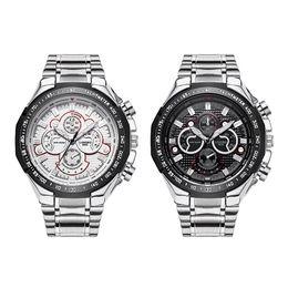 Longbo luxury fashion men's sports watch waterproof quartz steel with wrist watch for free delivery