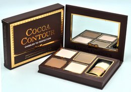 Wholesale Highest Quality HOT new Cocoa Contour Chiseled to Perfection Face Contouring Highlighting Kit Highest Quality DHL GIFT