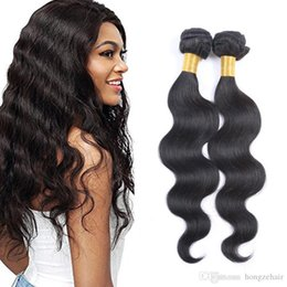 8A Peruvian Remy Hair Bundles 8-26 Double Weft Human Hair Extensions Dyeable 2pcs 100g lot Hair Weaves Body Wave Wavy Free Shipping