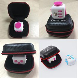 Free shipping 2017 New Hot Fidget cube Box the world's first American decompression anxiety Just Box