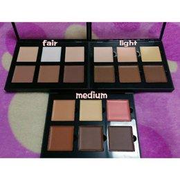 Wholesale HOT Makeup Face NEW Ana Pro Series Contour Cream Kit Light Medium Fair DHL GIFT