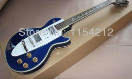 2017 inventario libre Inventario de encargo blanco brillante de la guitarra de la guitarra de la tienda de 1960 Corvette del blanco al por mayor para el envío libre inventario libre en venta