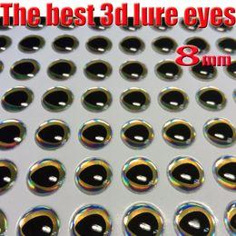 2017new pescando los ojos del señuelo 3d perfectos que caen proceso los mejores ojos de pescados clasifican: 4m m - 8m m quntily: 1000pcs / lot desde proceso de pesca fabricantes