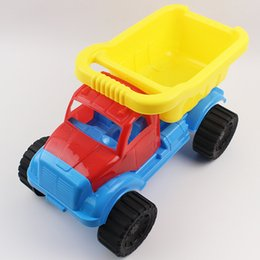 Wholesale Dump truck toy car inertia taxiing can dump children work car play sand toys