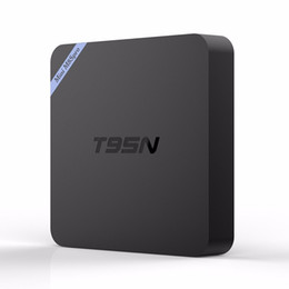 Wholesale Amlogic S905X gb gb Android Smart TV Box T95N Mini M8S Pro K Video Streaming Media Player support D Blu ray