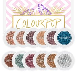 Wholesale New Arrival Colourpop Super Shock Bold Well Pigmented Eye Shadow Colors Waterproof Matte Natural Eyeshadow Drop Shipping