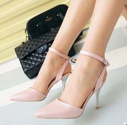 2017 chaussures habillées pour les femmes prix Grossiste prix de l'usine d'expédition libre sexy talon aiguille sexy femmes de la mode pointé dame chaussure de mariage 082 chaussures habillées pour les femmes prix sortie