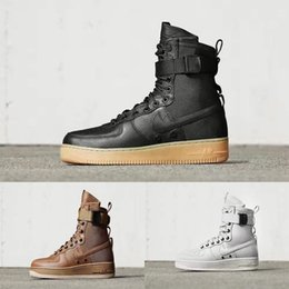 Wholesale 2016 Fashion Women Men Boots Winter Special Forces Brand Air Boots Crean Army green Brown Black Genuine Leather Forces