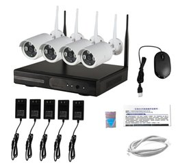 Acheter en ligne Répéteur sans fil à la maison-Bon prix cctv video hdd enregistrement hd extérieur système de caméra de sécurité sans fil avec répéteur wifi