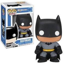20151031 Hot Films Jeu vidéo Cartoon FUNKO POP Batman # 01 Figurine d'action PVC Figurines de collection Jouets 12cm Livraison gratuite à partir de jeux vidéo batman fabricateur