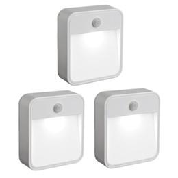 Wireless Battery-Powered Motion-Sensing LED Stick-Anywhere Nightlight