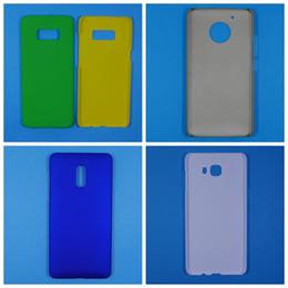 Wholesale Aceite de goma de la caja dura mate de la PC para la galaxia S8 Plus C9 Nokia Moto