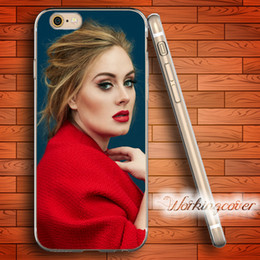 Fundas Adele Adkins Soft Clear TPU Case for iPhone 6 6S 7 Plus 5S SE 5 5C 4S 4 Plus Case Silicone Cover.