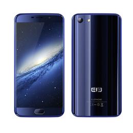 2017 caméra verre usb 4Go 64Go elePhone S7 Touch ID 4G LTE 64 bits Deca Core Hélio X20 MT6797 Android 6.0 5,5 pouces de verre courbé 1920 * 1080 FHD 13MP Appareil photo Smartphone bon marché caméra verre usb