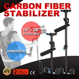 Wholesale S60T Carbon Fiber Handheld Steady Stabilizer For DSLR HDV